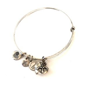 Alex & Ani Heart Bangle